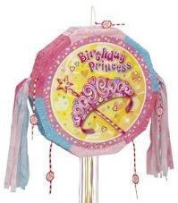Pretty Princess Pull Pinata